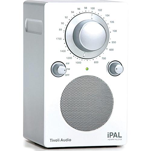 Tivoli iPAL Portable Radio (High Gloss White / Silver)