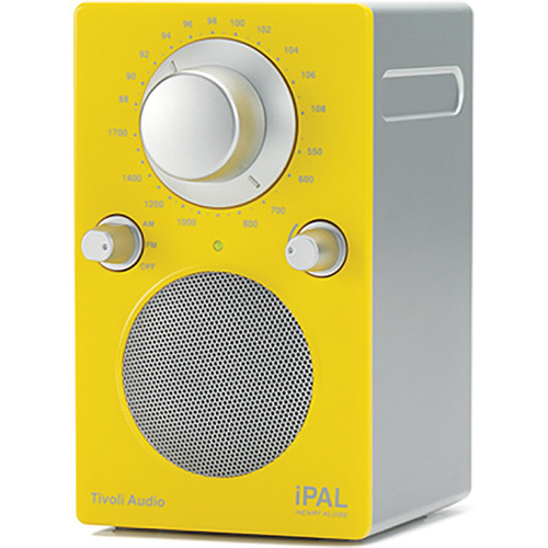 Tivoli iPAL Portable Radio (High Gloss Yellow / Silver)