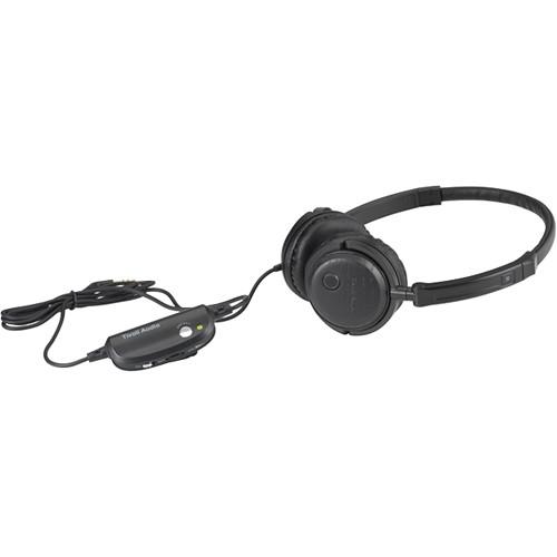 Tivoli Radio Silenz Active Noise Cancelling Headphones (Black)