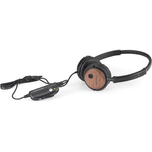 Tivoli Radio Silenz Active Noise Cancelling Headphones (Walnut)