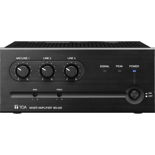 Toa Electronics BG-220 Amplifier & Mixer