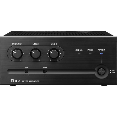 Toa Electronics BG-235 Amplifier & Mixer