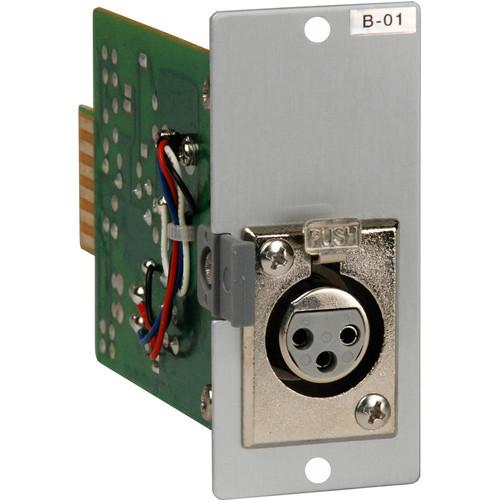 Toa Electronics B-01F - XLR Female Input Module
