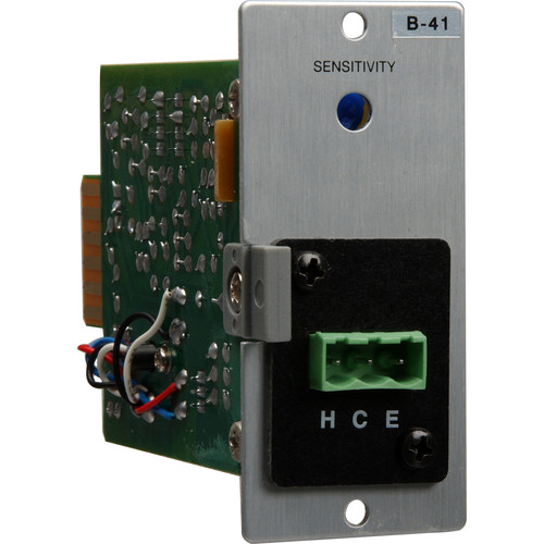 Toa Electronics B-41S - Line Level Removable Terminal Block Input Module with Mute-Send for Series 900 Amplifiers