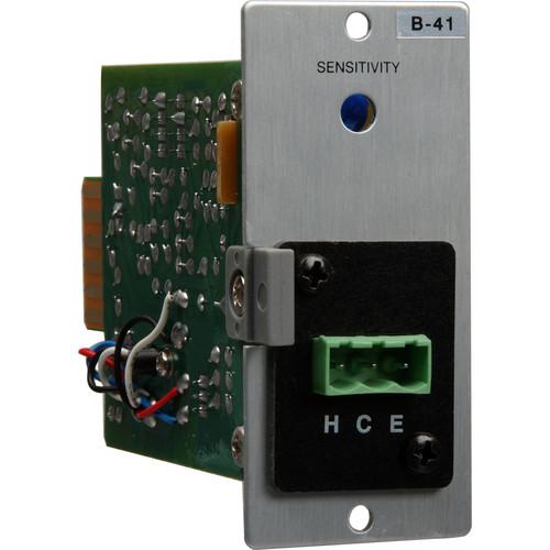 Toa Electronics B-41S - Line Level Removable Terminal Block Input Module