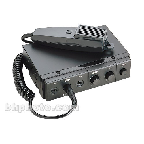 Toa Electronics CA-115 15W Mobile Mixer Amplifier with Microphone