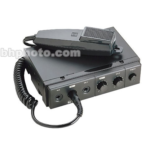 Toa Electronics CA130 30W Mobile Mixer Amplifier with Microphone