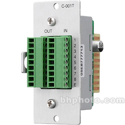 Toa Electronics C-001T - 8 x I/O Control Module for 9000 Series Amplifiers