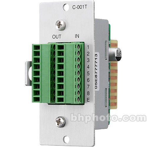 Toa Electronics C-001T - 8 x I/O Control Module for 9000 Series Amplifiers