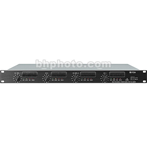 Toa Electronics DA-250F - 4-Channel Digital Amplifier (4 x 250W @ 4 Ohms)