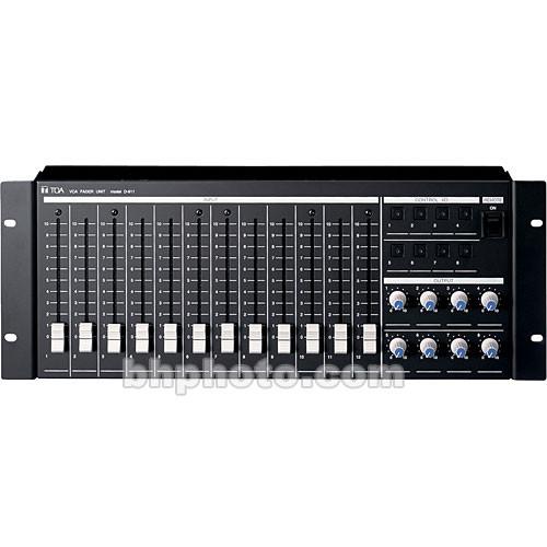 Toa Electronics D-911 - VCA Fader Unit for D-901