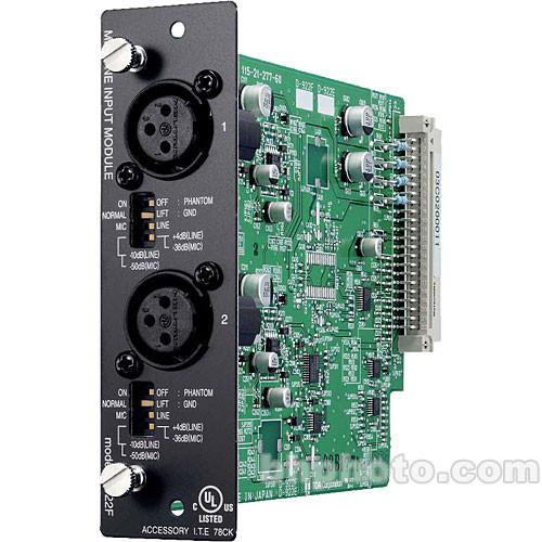Toa Electronics D-922F - 2 x Mic/Line 20-Bit Input Module (XLR-F)