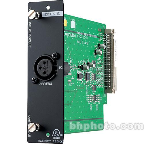 Toa Electronics D-923AE - 2-Channel AES/EBU Digital Input Module