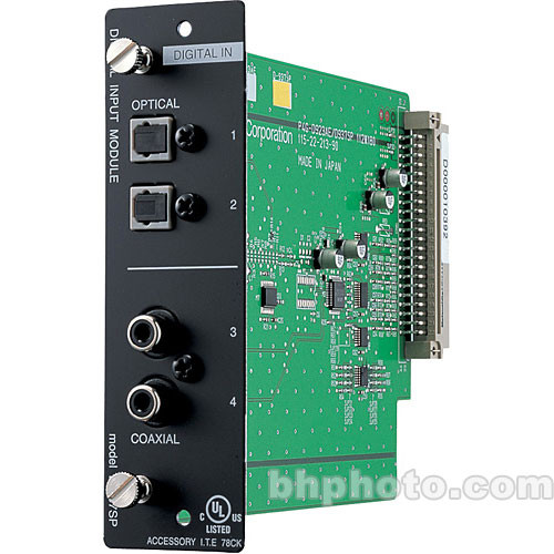 Toa Electronics D-937SP - Digital Input Module (S/PDIF/TOSLINK)