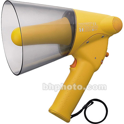 Toa Electronics ER-1206W - Splash-Proof 10-Watt Hand-Grip Megaphone with Whistle