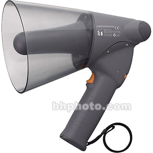 Toa Electronics ER-1206 - Splash-Proof 10-Watt Hand-Grip Megaphone