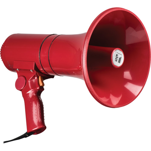 Toa Electronics ER-1215S 15W Handheld Megaphone with Siren (Red)