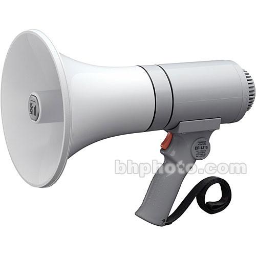 Toa Electronics ER-1215 15W Handheld Megaphone (Gray)