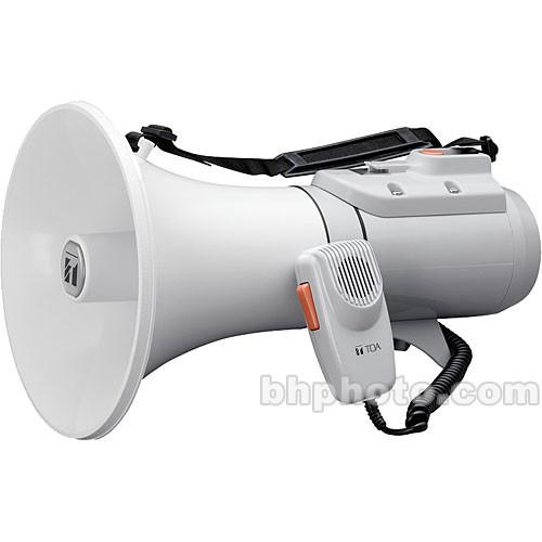 Toa Electronics ER-2215W - 23-Watt Shoulder Type Megaphone with Whistle