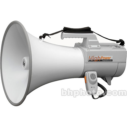Toa Electronics ER-2230W - 30-Watt Shoulder Type Megaphone with Whistle