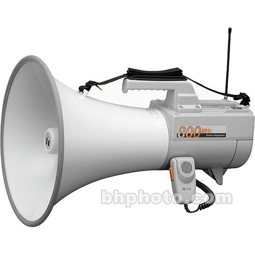 Toa Electronics ER-2930W - 45-Watt Wireless-Ready Megaphone with Whistle