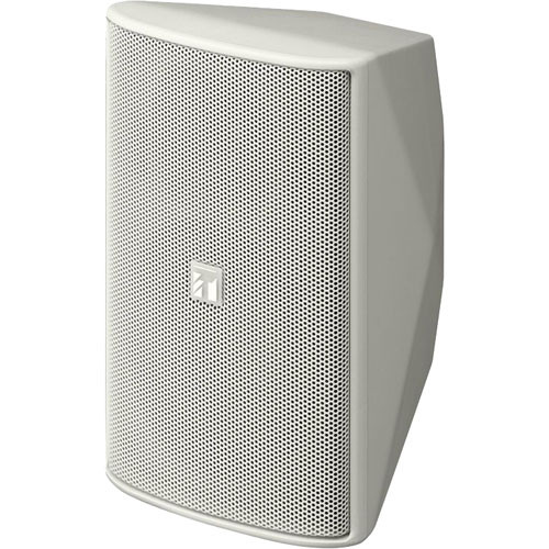 Toa Electronics F1000WT 2-Way Wide Dispersion Box Speaker with Transformer (White)