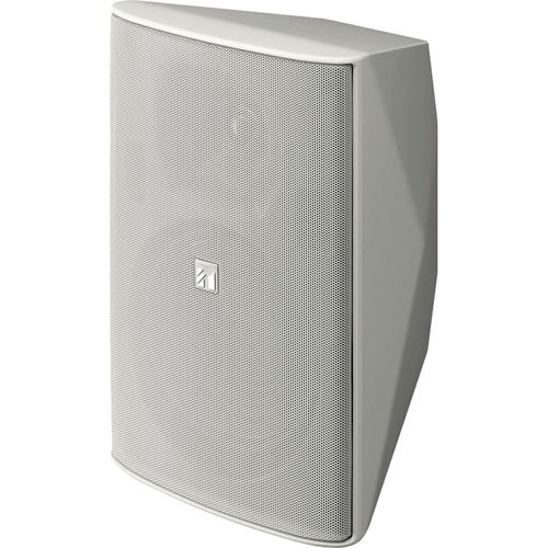 Toa Electronics F2000WT 2-Way Wide Dispersion Box Speaker with Transformer (White)