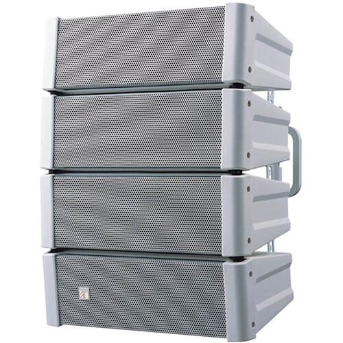 Toa Electronics HX-5W Variable Dispersion Line Array Speaker (White)