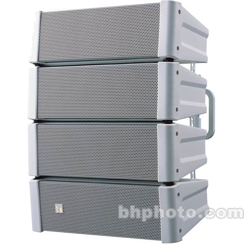 Toa Electronics HX-5WWP Variable Dispersion Line Array Speaker (White)