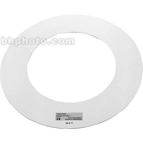 Toa Electronics HY-TR1 - Trim Ring for F-122C, F-2322C, and F-2352C