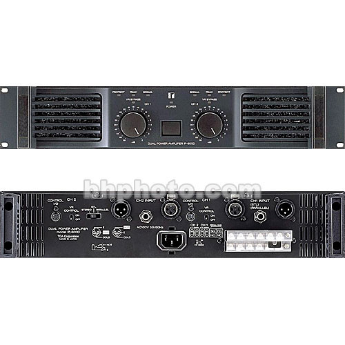Toa Electronics IP-450D - Dual-Channel Power Amplifier (450W Per Channel at 4 Ohms)