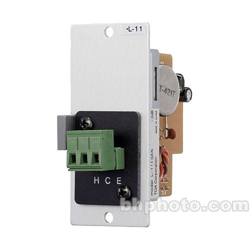 Toa Electronics L-11S - Line Matching Input Module