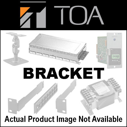 Toa Electronics MB-15B-J - Rack Mounting Bracket for 2 NX-100 or NX100S Units
