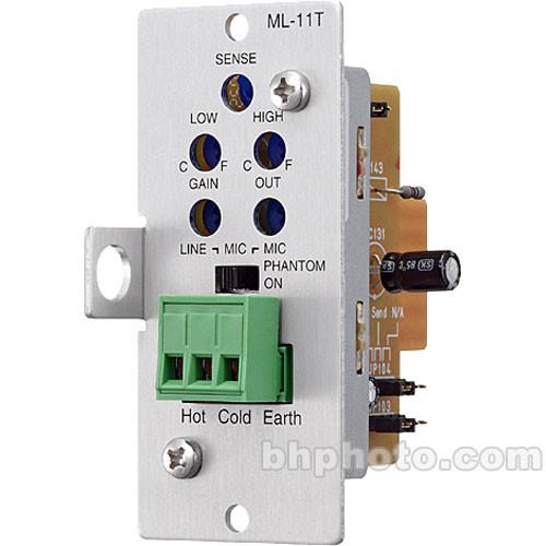 Toa Electronics ML-11T - Mic/Line Input w/ Mute Send/Receive (Terminal Block)