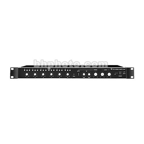 Toa Electronics M-243 - Rack-Mountable 6-Channel Stereo Mixer