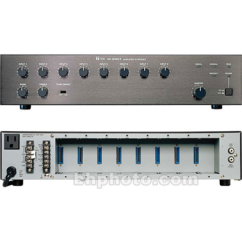 Toa Electronics M-900MK2 - 8-Channel Modular Mixer/Preamplifier