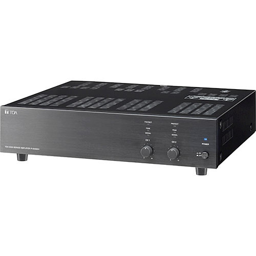 Toa Electronics P-9060DH 60w 2 Channel Power Amplifier @ 70V