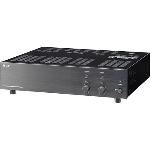 Toa Electronics P-9120DH  120w 2 Channel Power Amplifier @ 70V