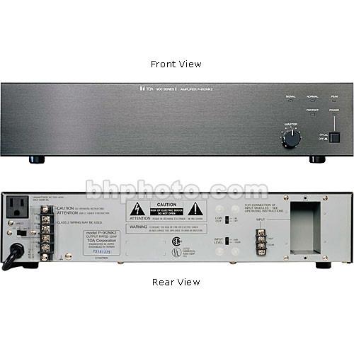Toa Electronics P-912MK2 120 Watt Single-Channel Modular Power Amplifier