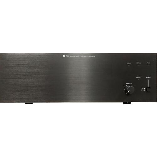 Toa Electronics P-924MK2 240 Watt Single-Channel Modular Power Amplifier