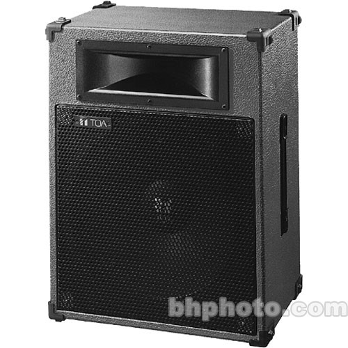 "Toa Electronics SL152 2-Way 12"" Stage Speaker"
