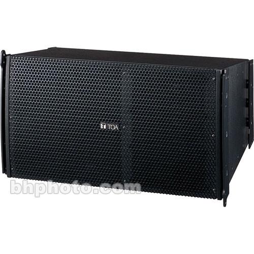 Toa Electronics SRA12S Mid-Sized Line Array Speakers (Black)