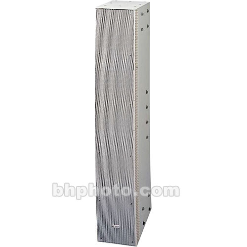 Toa Electronics SR-S4SWP Slim-Line Array Straight Speaker (White)