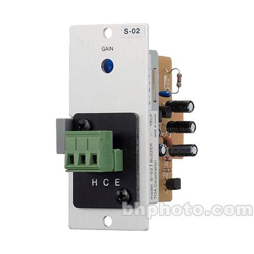 Toa Electronics S-02S - Buzzer/Yelp Tone Generator Module for 900 Series Amplifiers