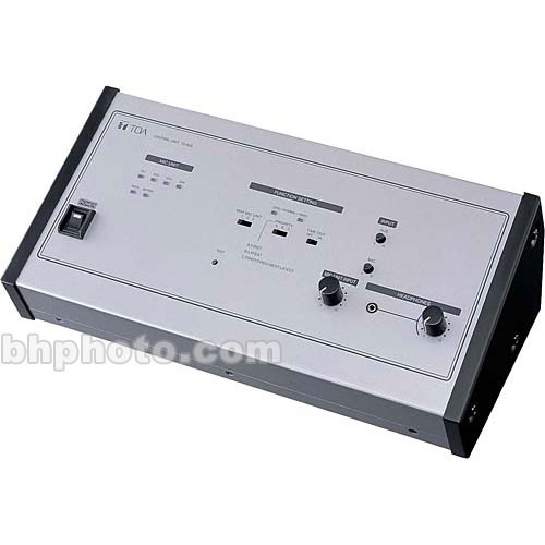 Toa Electronics TS-800UL Infrared Wireless Conference System Controller