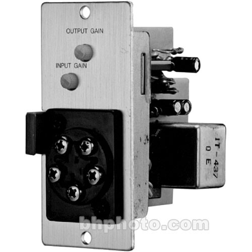 Toa Electronics T-02S - Unbalanced Line Input Module with Music-On-Hold Output