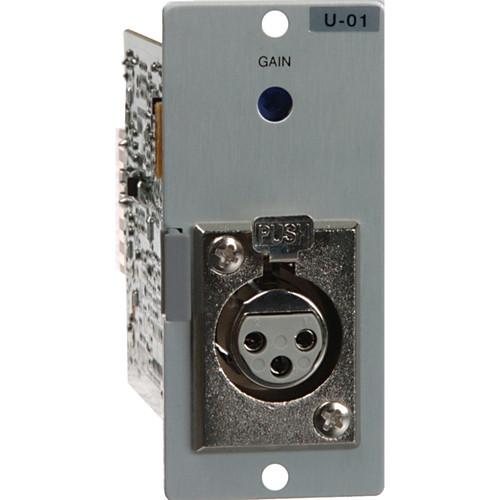 Toa Electronics U-01F - Unbalanced Line Input Module for 900 Series (XLR-F)
