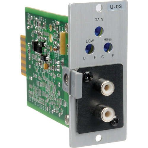 Toa Electronics U03R - Unbalanced Line Filter