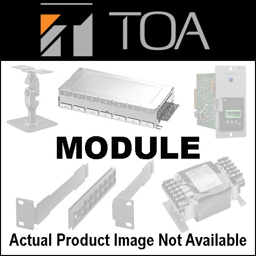 Toa Electronics U-03S - Unbalanced Line Input Module with High/Low Cut Filters