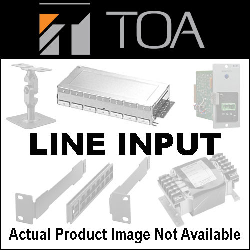 Toa Electronics U-43S - Unbalanced Line Input w/ High/Low Cut Filters and Mute-Send (3-Pin Removable Terminal Block)